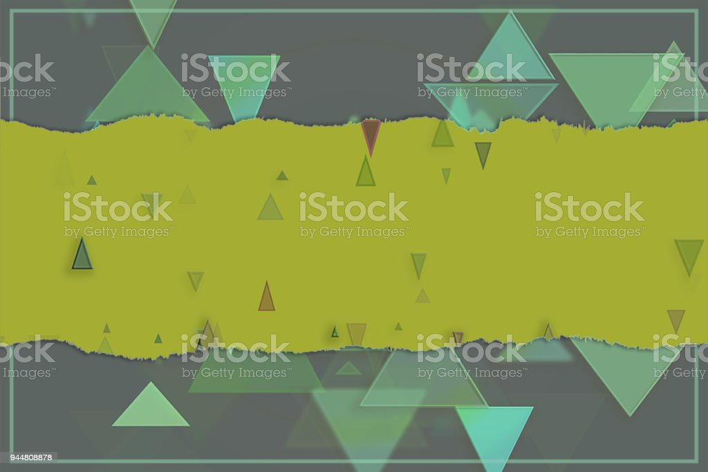 Blank abstract pattern background for name, caption or title. Shape, digital, graphic, backdrop & creativity. vector art illustration