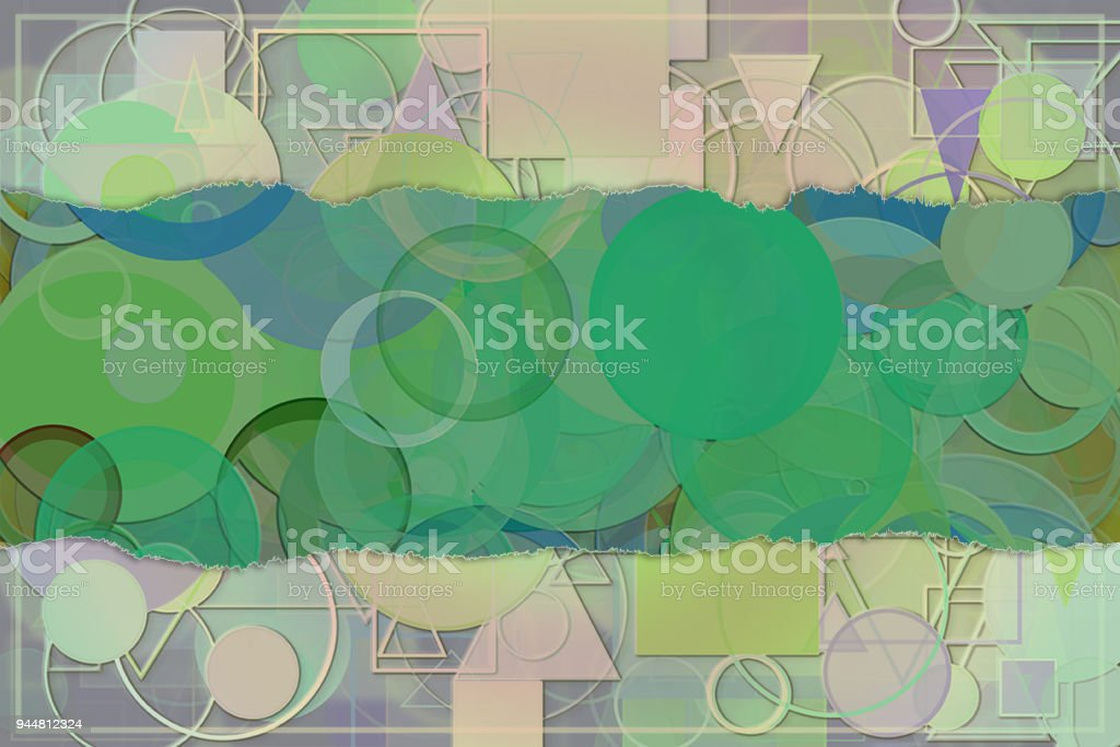 Blank abstract pattern background for name, caption or title. Shape, design, graphic, backdrop & artwork. vector art illustration