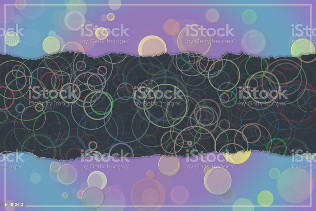 Blank abstract pattern background for name, caption or title. Shape, digital, wallpaper, creativity & graphic. vector art illustration