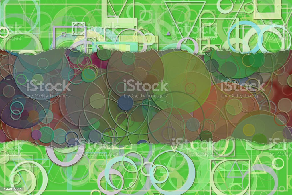 Blank abstract pattern background for name, caption or title. Shape, creative, artwork, wallpaper & creativity. vector art illustration