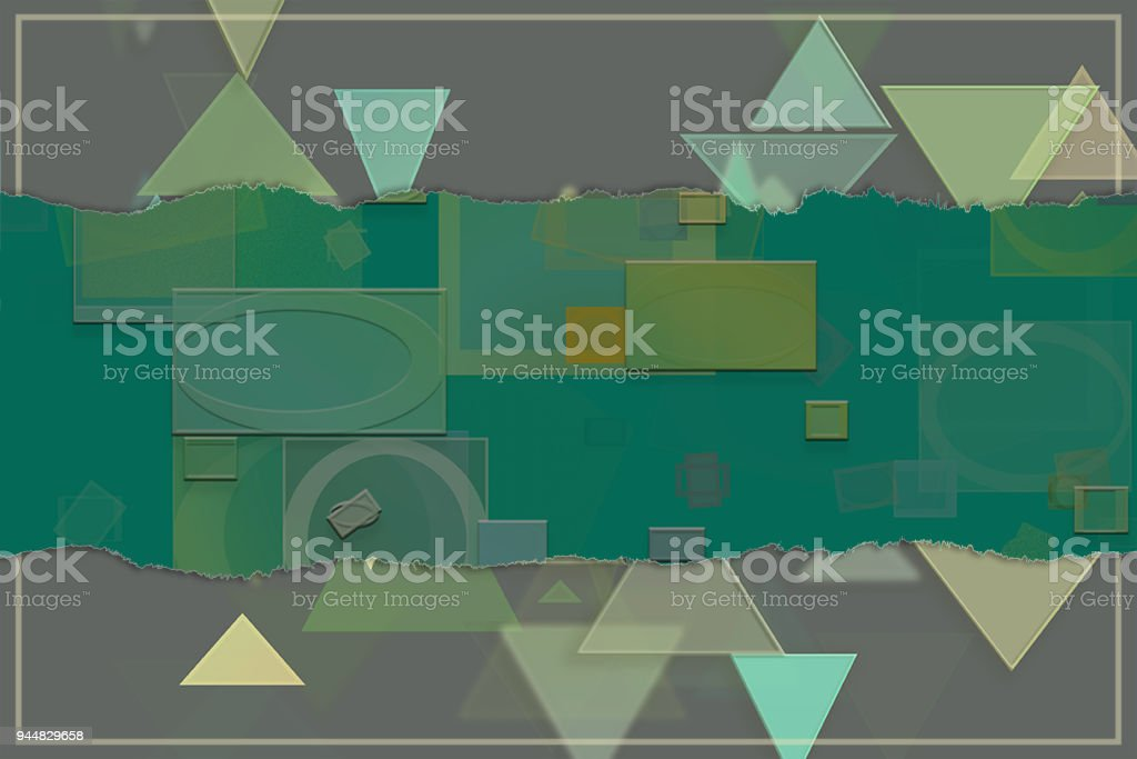 Blank abstract pattern background for name, caption or title. Shape, style, wallpaper, illustration & colorful. vector art illustration