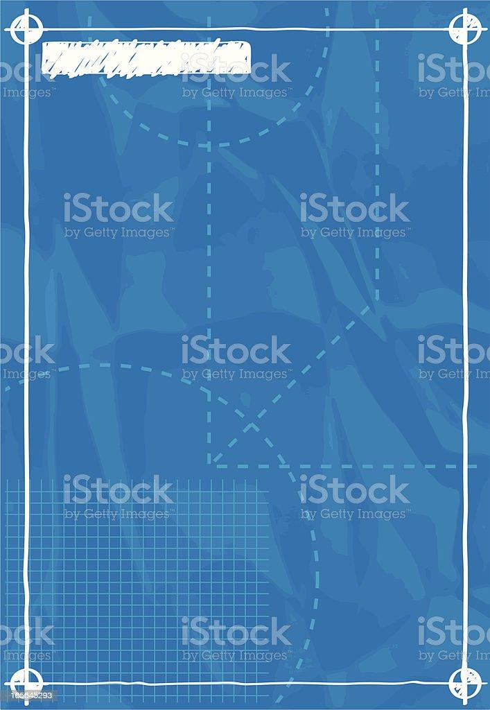 blank blueprint royalty-free stock vector art