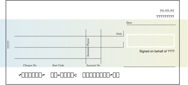 Blank Cheque Stock Illustration - Download Image Now