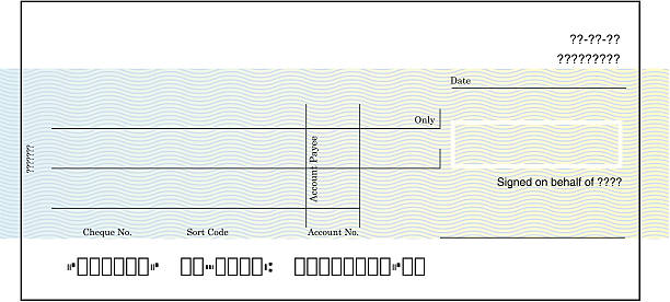 Blank Cheque Blank cheque illustration check financial item stock illustrations