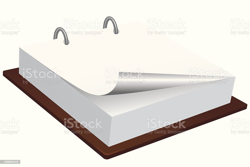 Blank memo pad royalty-free blank memo pad stock vector art & more images of book