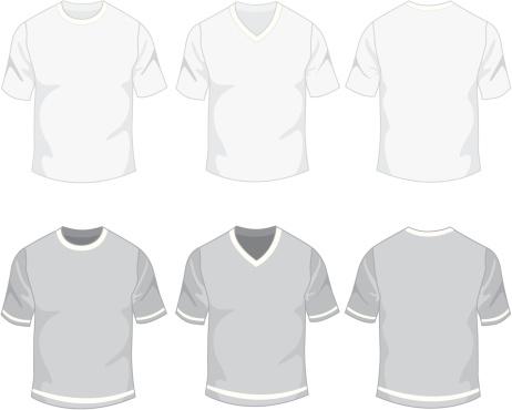 Blank mens t-shirt