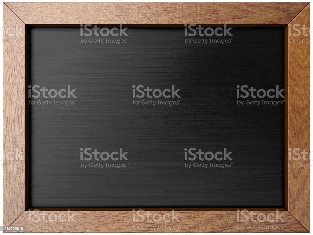 Vide Tableau de menu avec vue sur ipad écran forme - Illustration vectorielle