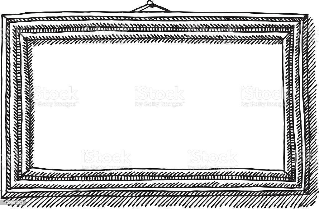cadre photo blanc dessin cliparts vectoriels et plus d 39 images de art 165981208 istock. Black Bedroom Furniture Sets. Home Design Ideas