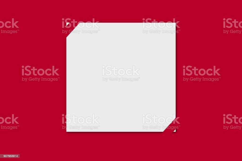 Blank Red And White Greetings Card Template Valentines Love