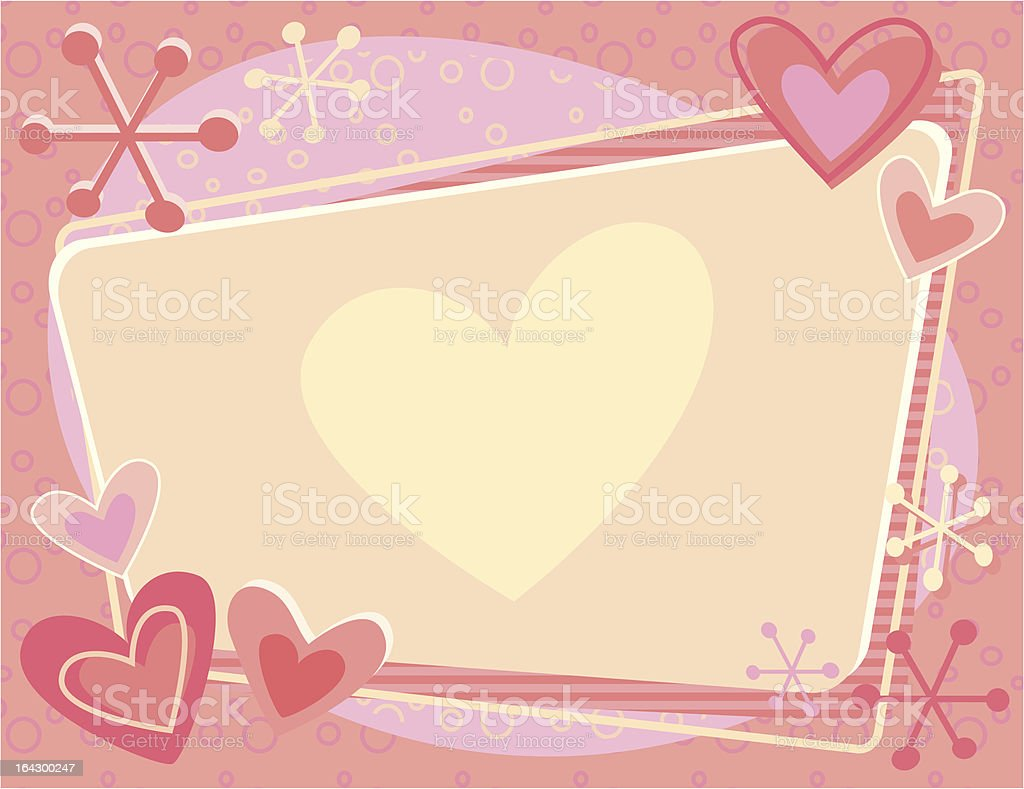 Blank Valentine royalty-free blank valentine stock vector art & more images of atom
