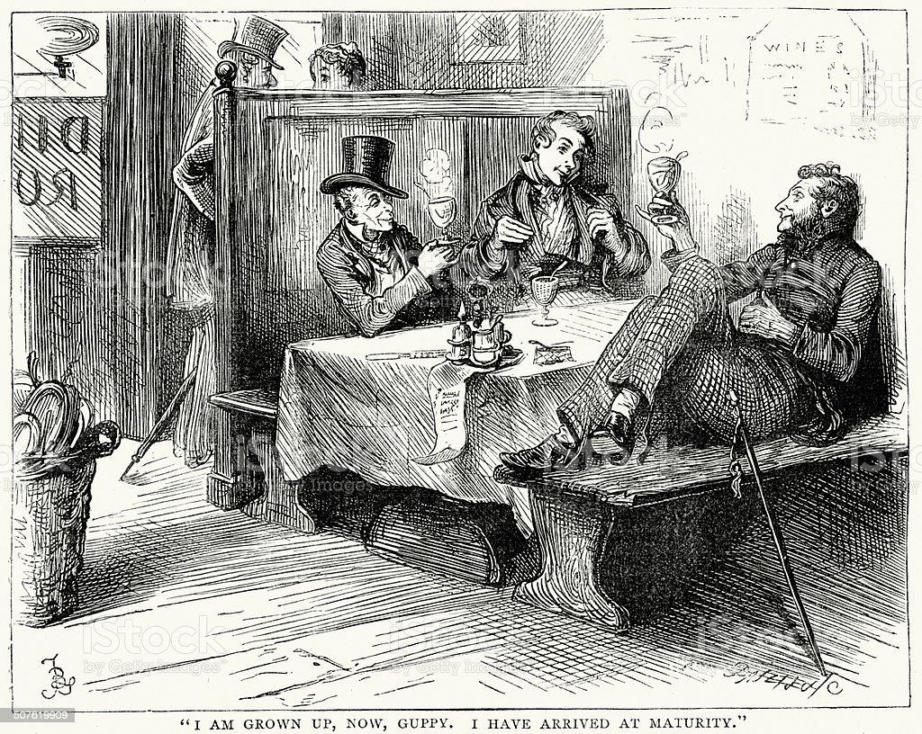 Bleak House By Charles Dickens Royalty Free Bleak House By Charles Dickens  Stock Vector Art