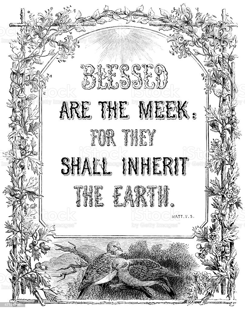 Image result for images for blessed are the meek