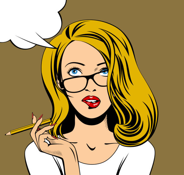 Best Girl Thinking Illustrations, Royalty-Free Vector ...