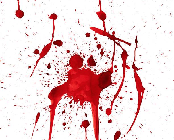 Blood Dripping vector art illustration
