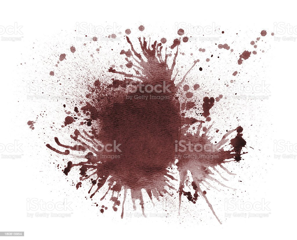 Blood Splatter royalty-free stock vector art