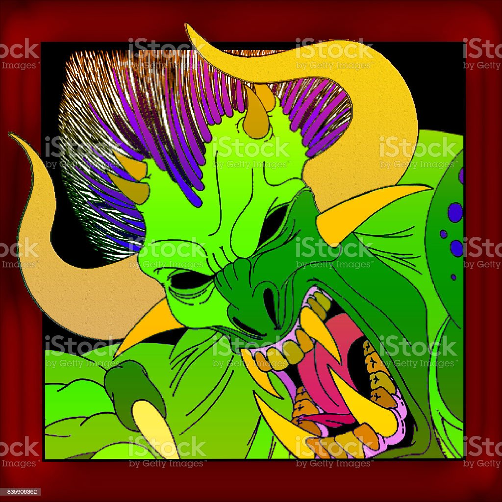 Bloodthirsty Demon royalty-free bloodthirsty demon stock vector art & more images of bizarre