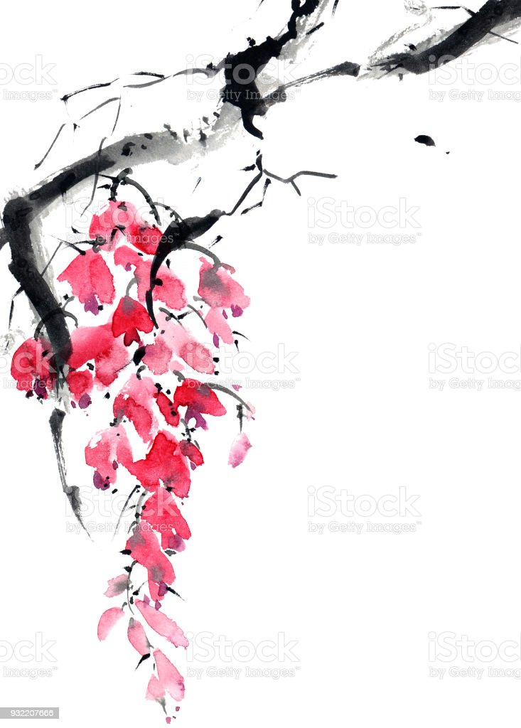 çiçeği Ağaç Dalı Stok Vektör Sanatı Ağaçnin Daha Fazla Görseli