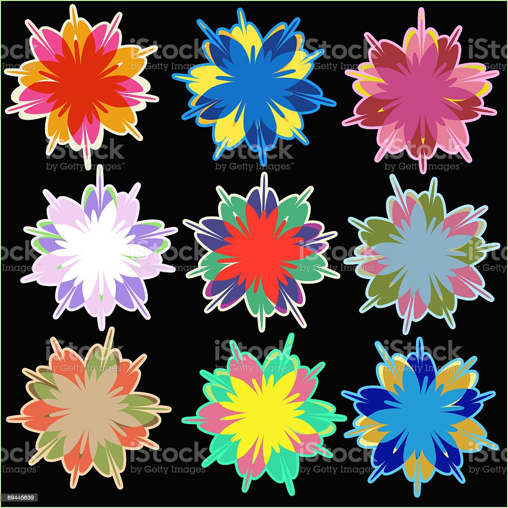 Blossoms icons royalty-free blossoms icons stock vector art & more images of blossom