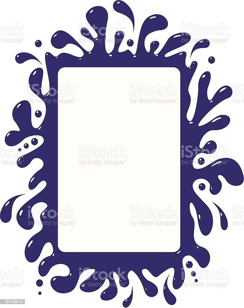blot frame pattern royalty-free blot frame pattern stock vector art & more images of abstract