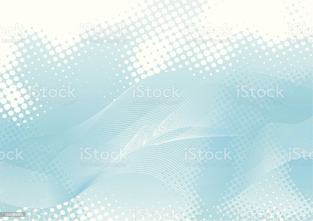 Blue Abstract royalty-free stock vector art