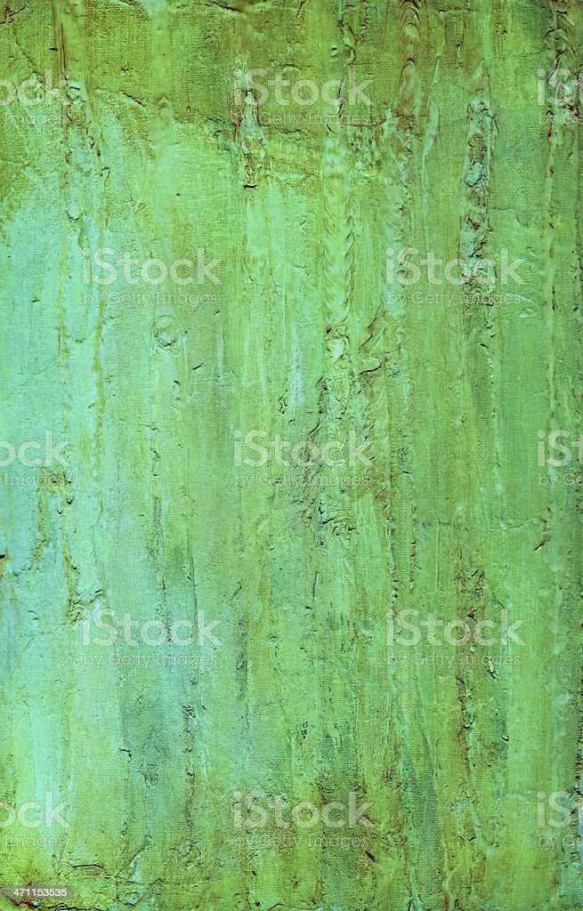 Blue and Green Impastic Background vector art illustration