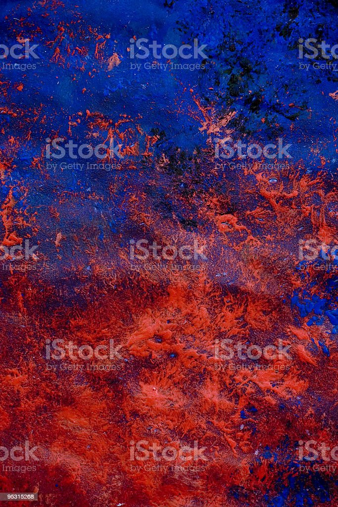 Blue and red painted background royalty-free stock vector art