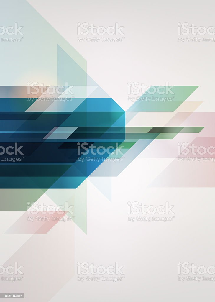 A blue and white abstract background vector art illustration