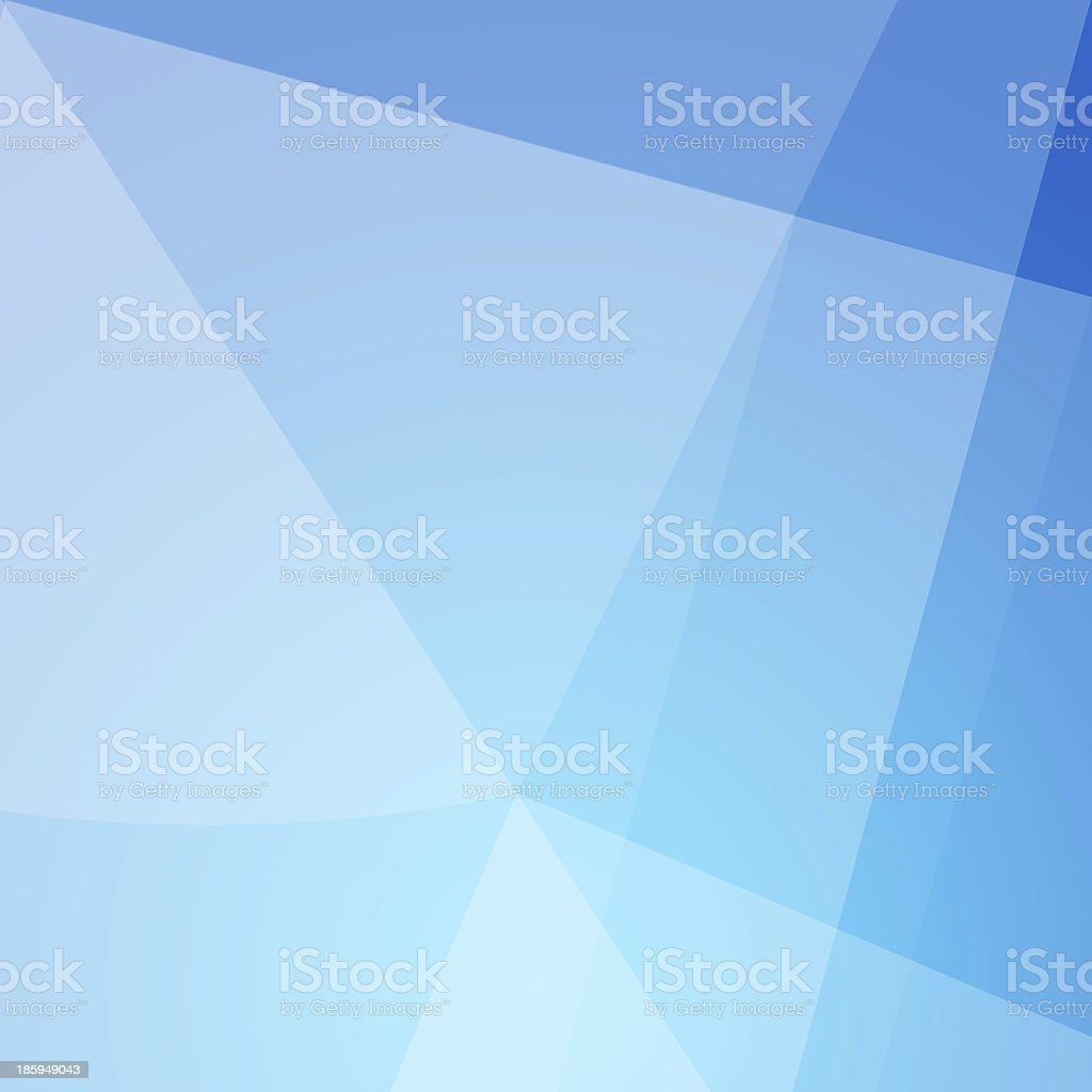 Blue and white abstract design background vector art illustration