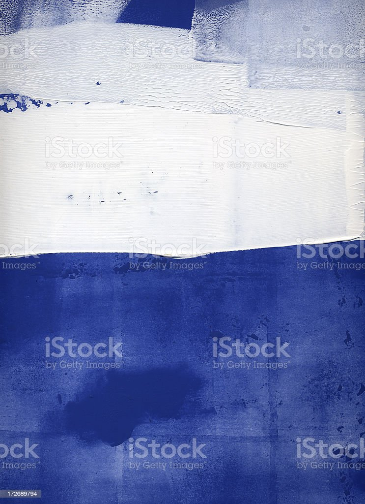 Blue and white abstract royalty-free stock vector art
