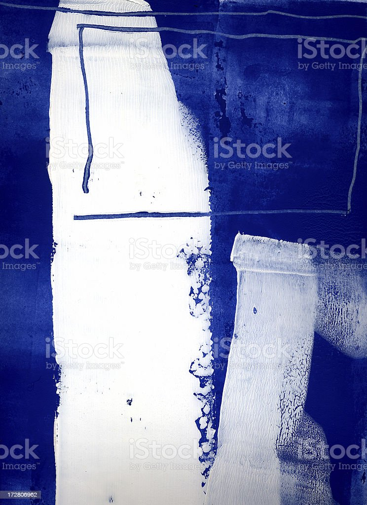 Blue and white vertical. royalty-free stock vector art