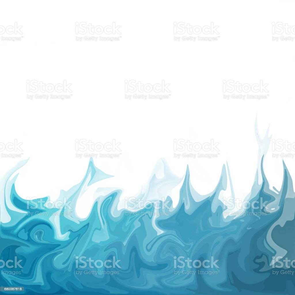 Blue Digital Acrylic Color Swirl Or Similar Marble Twist royalty-free blue digital acrylic color swirl or similar marble twist stock vector art & more images of abstract