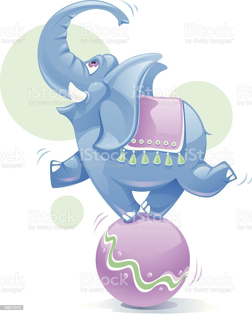 Blue Elephant royalty-free blue elephant stock vector art & more images of animal