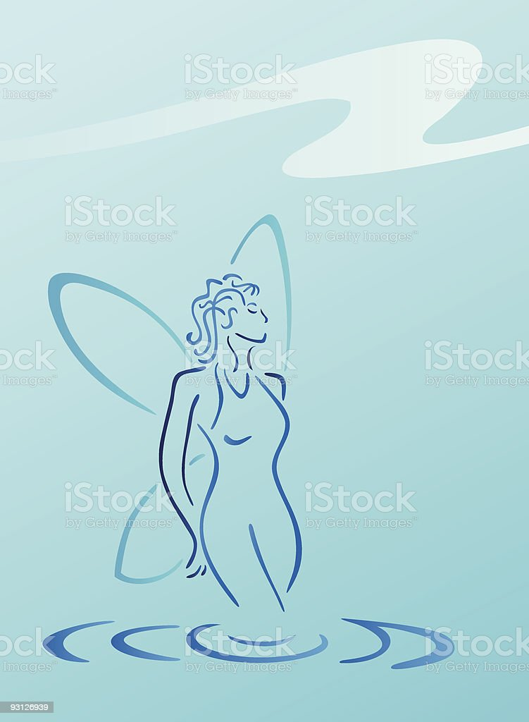 Blue Fairy royalty-free blue fairy stock vector art & more images of adult