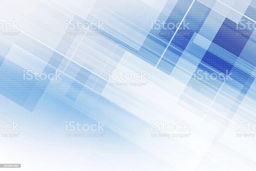 Blue Futuristic Background vector art illustration