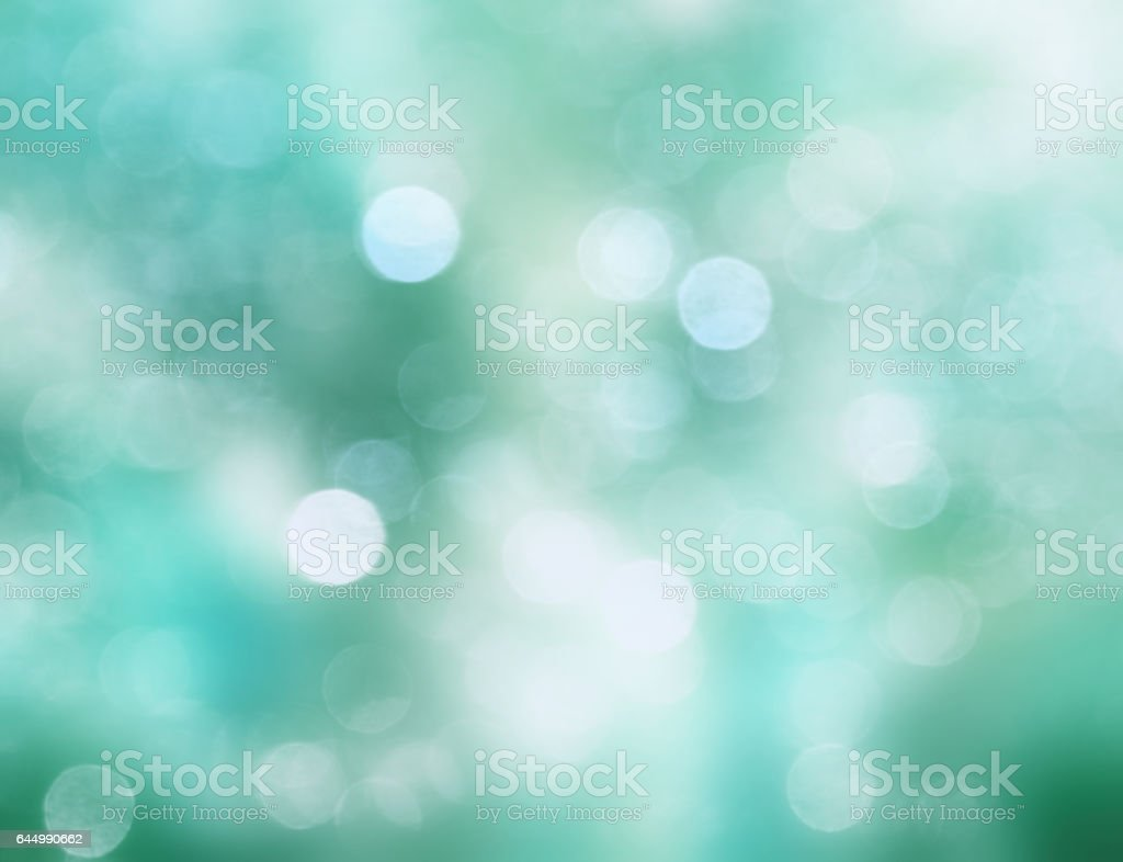 Blue green soft blurred background. vector art illustration
