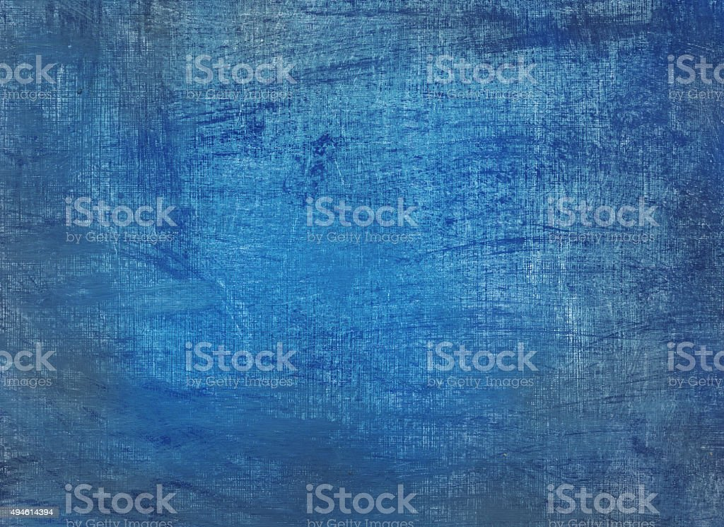blue grunge painted background vector art illustration