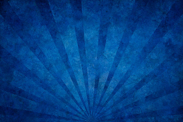 blue grunge texture with sunrays - textured effect stock illustrations