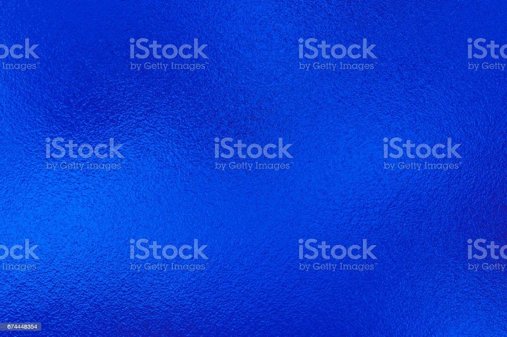 Blue metal foil vector art illustration