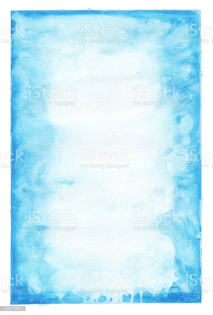 Blue paint on aged paper background or pattern royalty-free blue paint on aged paper background or pattern stock vector art & more images of abstract