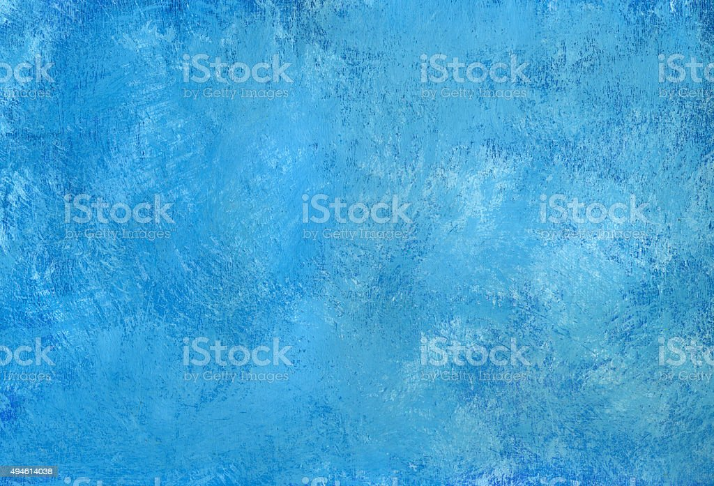 Blauer gemalten Hintergrund – Vektorgrafik