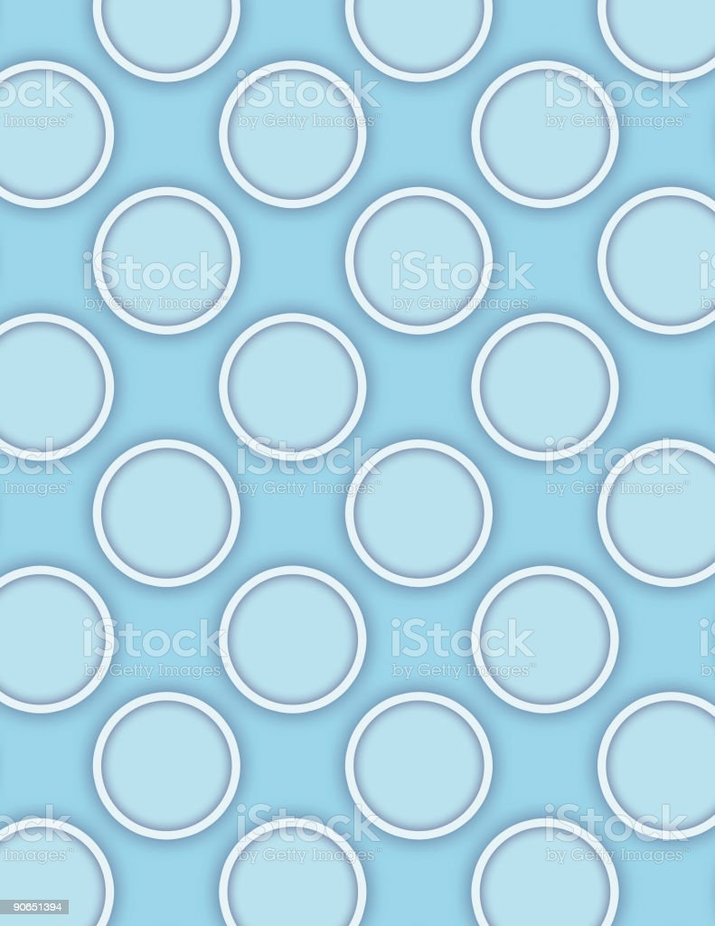 Blue Pastilles vector art illustration