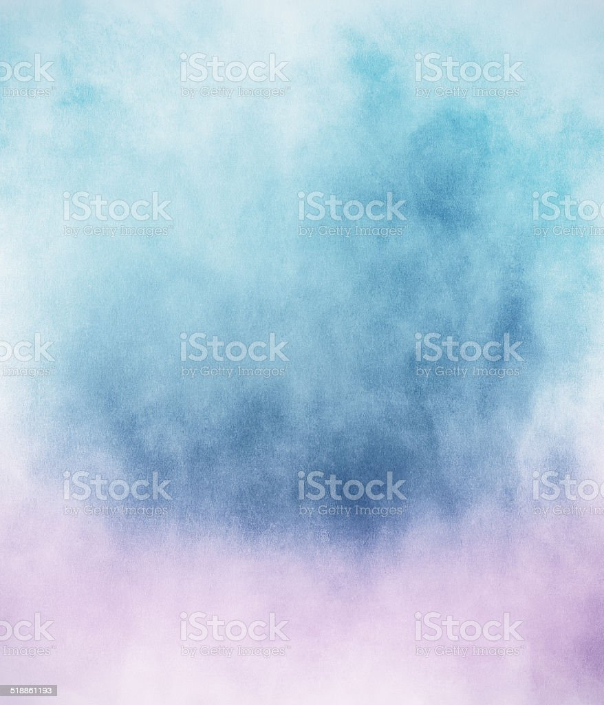 Blue Pink Fog vector art illustration