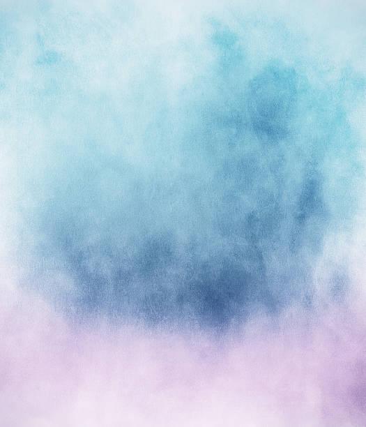 Blue Pink Fog vector art illustration