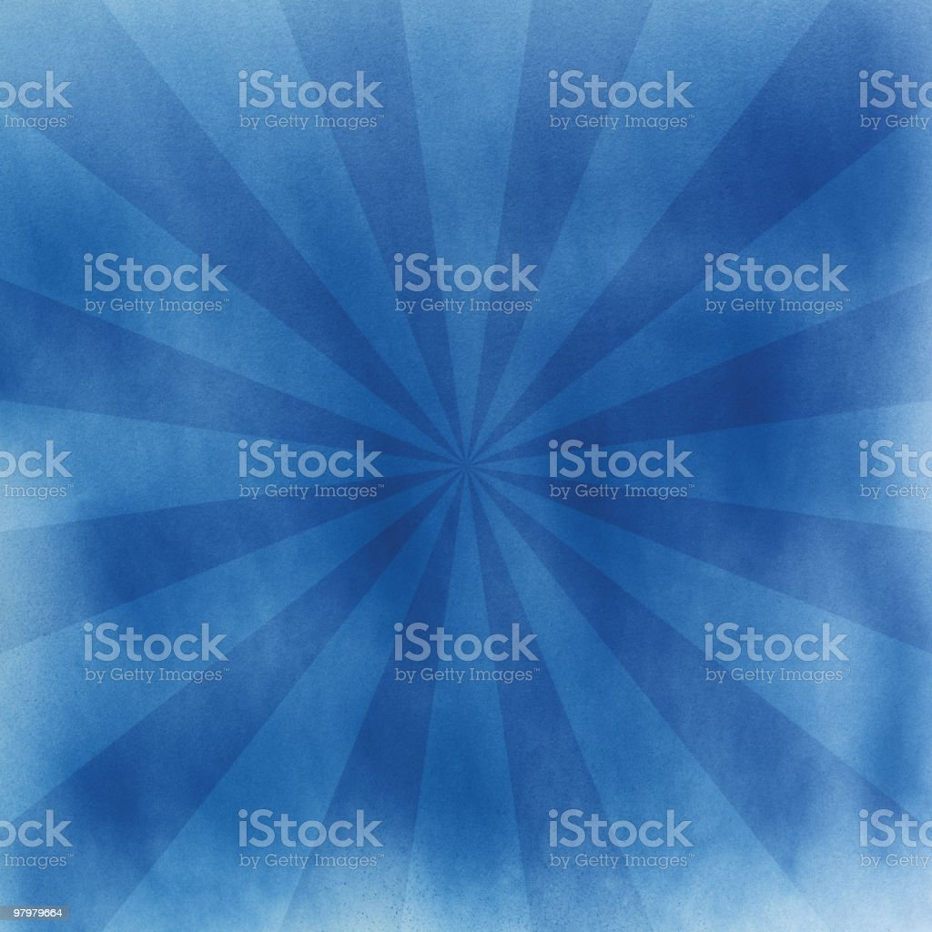 Blue retro sunbeam background royalty-free blue retro sunbeam background stock vector art & more images of abstract