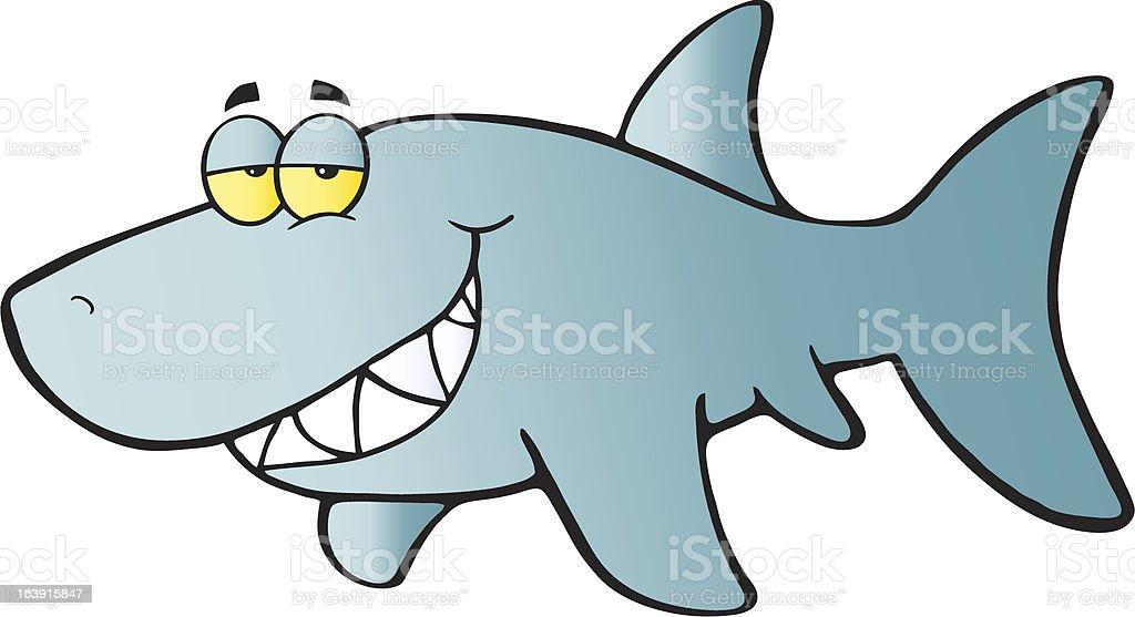 blue shark flashing a flirty smile stock vector art more images of rh istockphoto com Funny Shark Clip Art Shark Mouth Clip Art