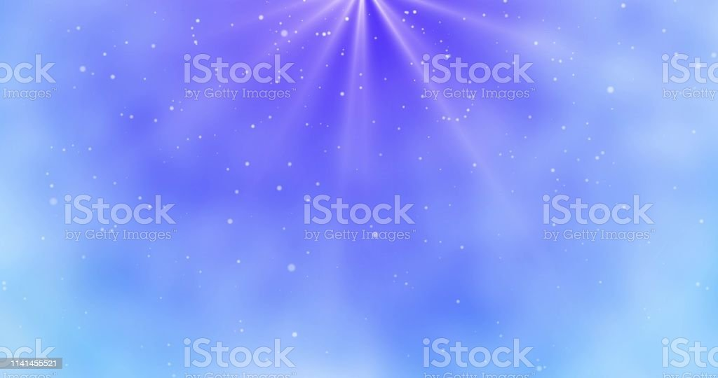 blue sky and snowfall abstract background magical christmas wallpaper illustration id1141455521