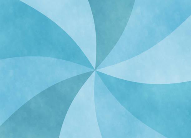 Blue spiral copy space vector art illustration