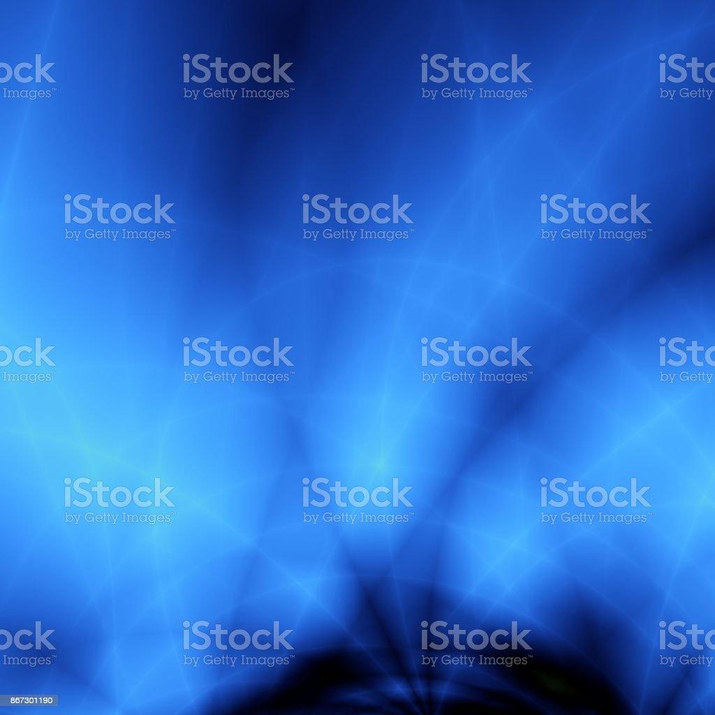 青い嵐壁紙抽象異常な背景 イラストレーションのベクターアート素材