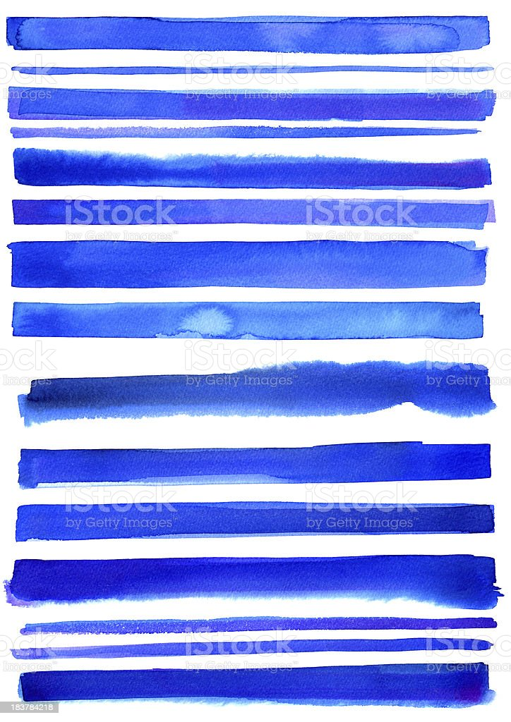 Blue textured stripes royalty-free stock vector art