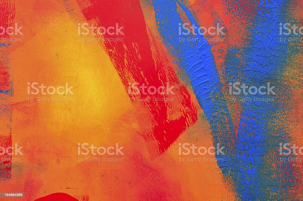 Blue vee abstract vector art illustration